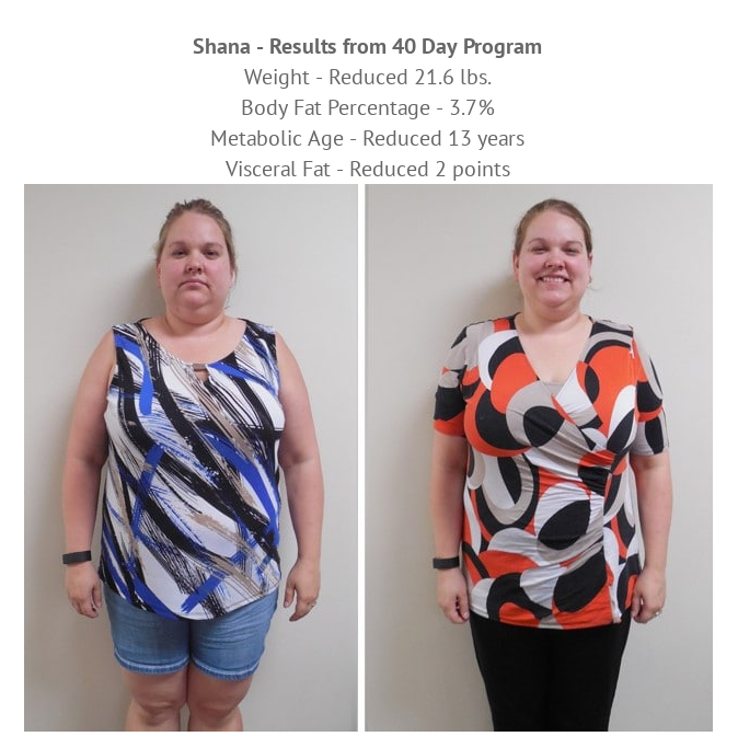 Before and After Photo of a Patient with Noticeable Weight Loss